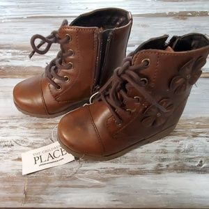 Children's Place Girl's Toddler Boots Sz 8